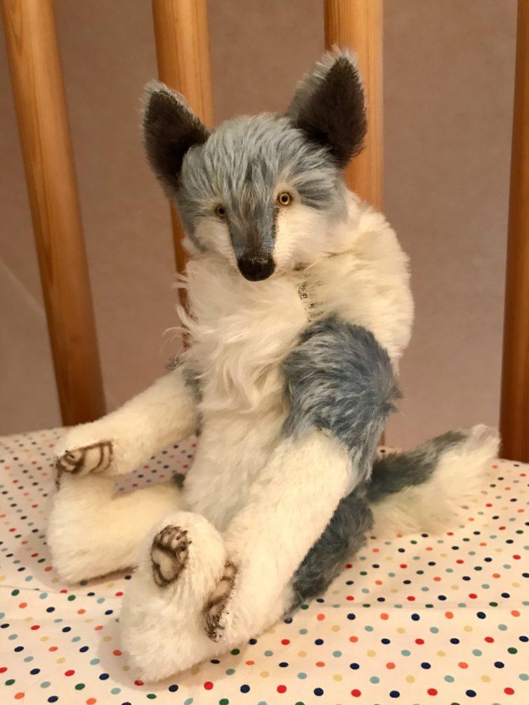 オオカミ テディベア