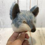 オオカミの顔